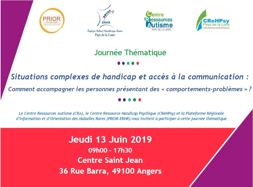 Colloque comportements problemes juin 2019